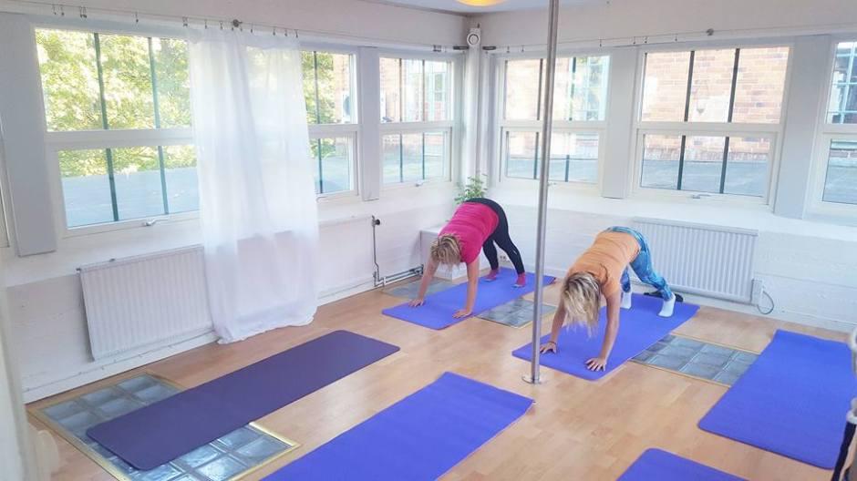 Yoga i Eskilstuna på Hydrotrim