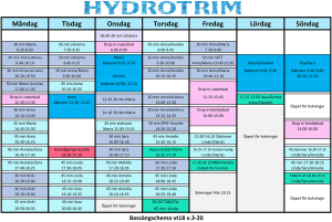 hydrotrim vt 2018