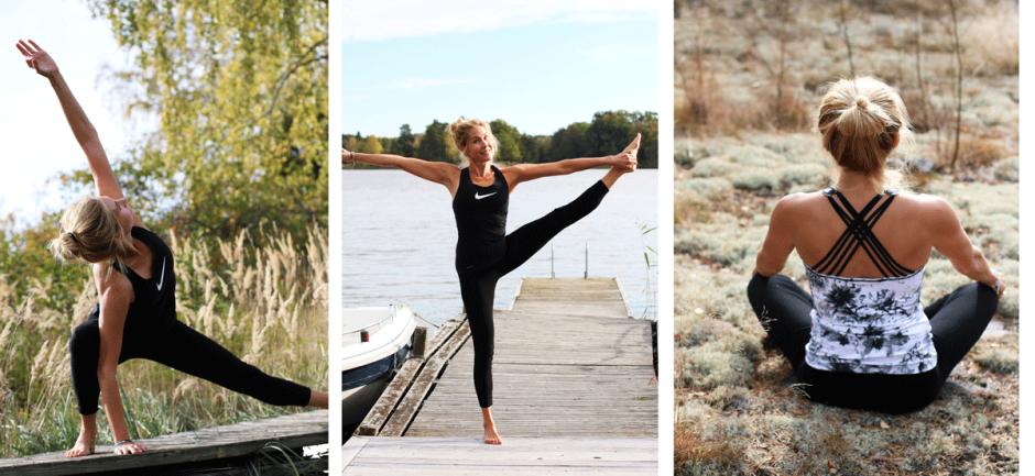 Vinyasa-yoga på Hydrotrim